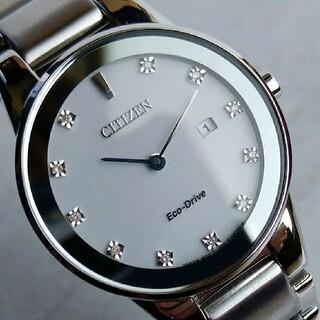 CITIZEN - 【定価4万】新品未使用 シチズン 腕時計 レディース ダイヤモンド 30mm
