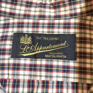 L'Appartement DEUXIEME CLASSE - アパルトモン ドゥーズィエムクラス チェックシャツ