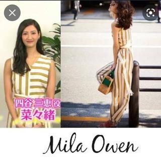 ミラオーウェン(Mila Owen)のMira Owen ロンパース(オールインワン)