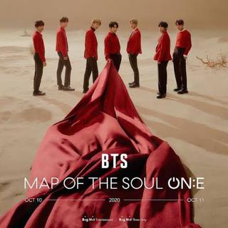 ボウダンショウネンダン(防弾少年団(BTS))の【 BTS 】MAP OF THE SOUL ONE ☆ DVD(アイドルグッズ)
