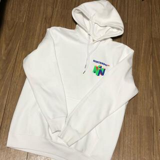 エイチアンドエム(H&M)のh&m 任天堂 64 ロゴ パーカー(パーカー)