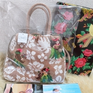 FEILER - 新品タグ付 フェイラーバッグ マナマナ 巾着ショルダーバッグ 定価20,900円