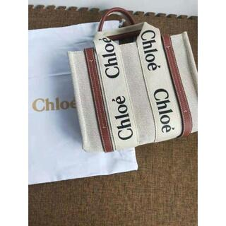 Chloe woody スモール トートバッグ