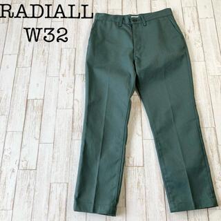 ラディアル(RADIALL)のRADIALL ラディアル カラーパンツ ワークパンツ W32 美品 古着(ペインターパンツ)