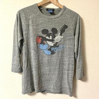 ビームス(BEAMS)のビームス ミッキー ロックT プリントT 七分(Tシャツ/カットソー(七分/長袖))