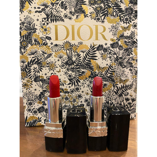 Dior - DIOR ミニリップ2本セット