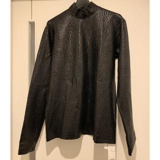 ジョンローレンスサリバン(JOHN LAWRENCE SULLIVAN)のJOHN LAWRENCE SULLIVAN 20aw クロコダイルトップス M(Tシャツ/カットソー(七分/長袖))
