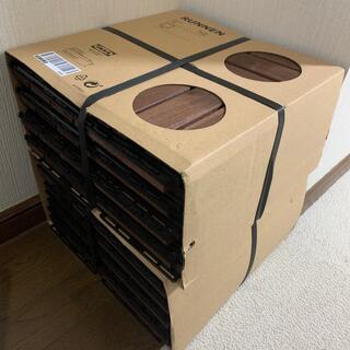 イケア(IKEA)の【新品・送料込】【18枚】IKEA ウッドタイル フロアデッキ ウッドパネル(その他)
