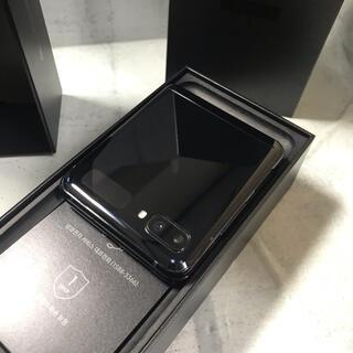 ギャラクシー(Galaxy)のGalaxy Z Flip Black 256GB SIMフリー(スマートフォン本体)