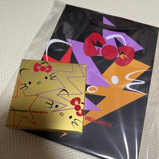 shu uemura - シュウウエムラ ディスコグラム アイパレット キティコラボ ショッパー付き