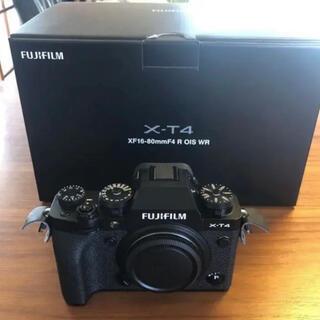 富士フイルム - FUJIFILM X-T4 ボディ ブラック