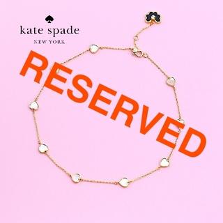 kate spade new york - 【新品♠本物】ケイトスペード スペードフラワーネックレス