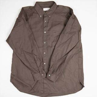 アダムエロぺ(Adam et Rope')のADAM ET ROPE 19AW フィンクスコットン オーバーサイズBDシャツ(シャツ)