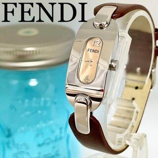 FENDI - 102 FENDI フェンディ時計 レディース腕時計 未使用に近い ブラウン