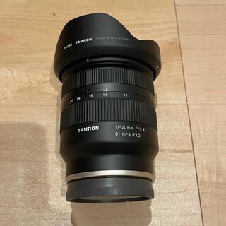 TAMRON - TAMRON 11-20mm F/2.8 Di III-A RXD Eマウント