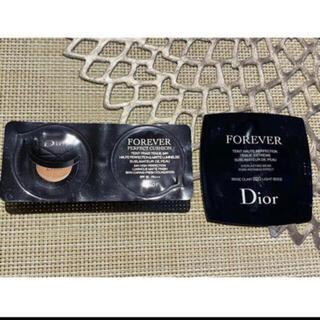 Dior - Dior ディオール フォーエヴァークッション1N フルイド020ライトベージュ