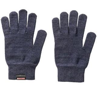 MIZUNO - 1361 新品 MIZUNO ブレスサーモインナーグラブ 手袋 ネイビー