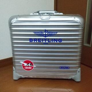 リモワ(RIMOWA)の希少!RIMOWA リモワ 28L 青ロゴ スーツケース(トラベルバッグ/スーツケース)