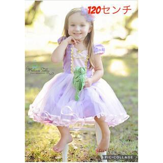 120cm ハロウィン コスプレ 子供 ドレス なりきり ディズニー プリンセス