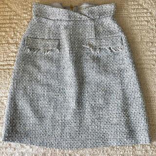 ノエラ(Noela)のノエラ ツイードスカート(ひざ丈スカート)