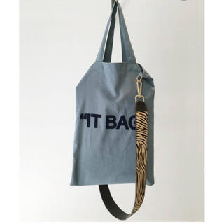 L'Appartement DEUXIEME CLASSE - アパルトモン GOOD GRIEF! Belt with It Bag ゼブラ