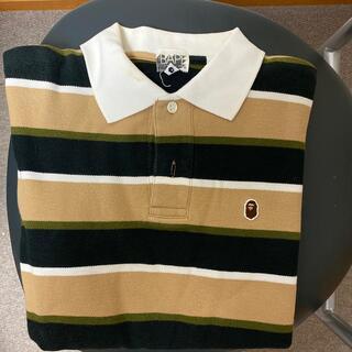 アベイシングエイプ(A BATHING APE)のA BATHING APEポロシャツSサイズ(ポロシャツ)