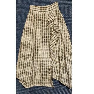 ノエラ(Noela)のNoela ノエラ チェック ツイードスカート S(ひざ丈スカート)