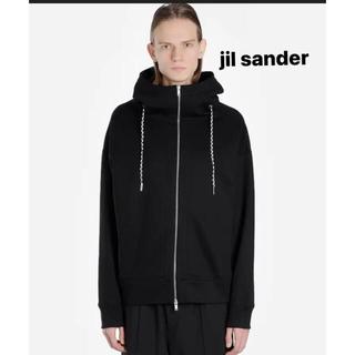 Jil Sander - jil sander ジップスタンドパーカー M