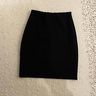 ロイヤルパーティー(ROYAL PARTY)のROYAL PARTY ブラック タイトスカート(ひざ丈スカート)