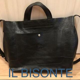 IL BISONTE - イルビゾンテ ショルダーバッグ ブラック