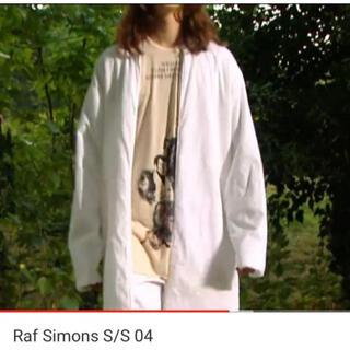 RAF SIMONS - RAF SIMONS ラフシモンズ  2004 宗教期 刺繍 コート ガウン