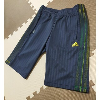 adidas - ☆AHP-341 アディダス ハーフパンツ 紺&金ロゴ サイズ L