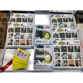 BANDAI - ヒロアカ 一番くじ フィギュア キャンバスボード ラバーチャーム 未開封セット