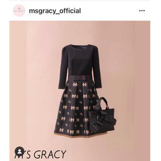 M'S GRACY - インスタ掲載  今季新作  新品未使用  M'S GRACY  ワンピース