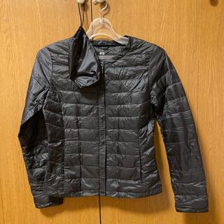 ユニクロ(UNIQLO)のユニクロ ウルトラライトダウン コンパクトジャケット クルーネック ブラック S(その他)