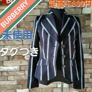 バーバリーブルーレーベル(BURBERRY BLUE LABEL)のBURBERRY ジャケット 紺水色白(テーラードジャケット)