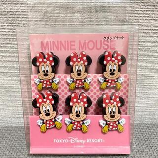 ミニーマウス(ミニーマウス)のディズニーリゾート ミニーマウス クリップセット(キャラクターグッズ)