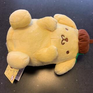 ポムポムプリン - ポムポムプリン 犬ポーズぬいぐるみ