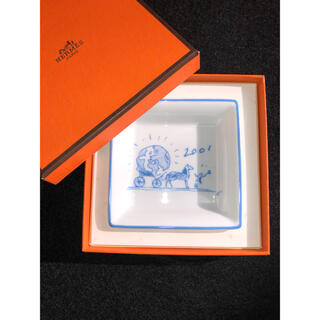 エルメス(Hermes)のエルメス ジュエリートレイ 小物入れ 小皿 2001年の非売品(ノベルティグッズ)