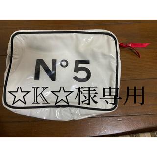 CHANEL - CHANEL N°5 大きめポーチ