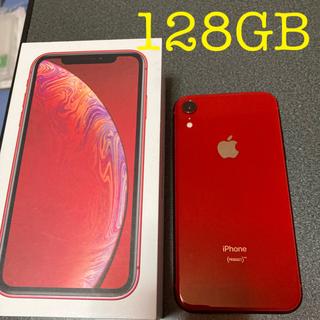 iPhone - 【新品交換品】iPhone XR RED 128 GB SIMフリー 本体