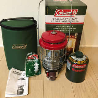 Coleman - 【マントル1枚・OD缶セット】コールマン/ガスランタン/ノーススター2500