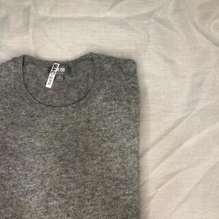 UNIQLO - ユニクロ メンズ 100%カシミヤセーター
