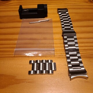 ギャラクシー(Galaxy)のGalaxy watch 4 classic 46mm用 メタルバンド(腕時計(デジタル))
