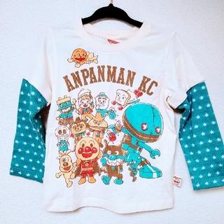 アンパンマン - アンパンマン長袖半袖2way Tシャツ 100