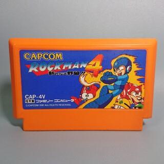 ファミリーコンピュータ(ファミリーコンピュータ)のファミコン ロックマン4(家庭用ゲームソフト)