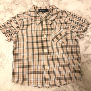 BURBERRY - BURBERRY バーバリー 半袖 チェックシャツ