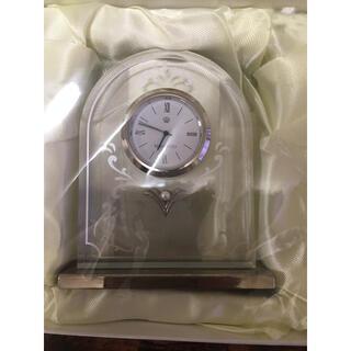 MIKIMOTO - MIKIMOTO 置き時計 取り扱い説明書あり