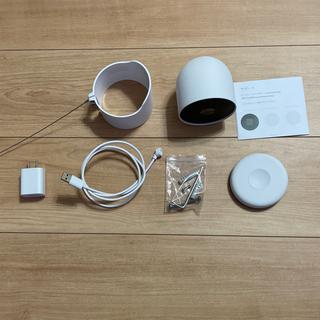 グーグル(Google)のGoogle Nest Cam(バッテリー式)+ 盗難防止用マウント 中古(防犯カメラ)