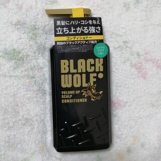 タイショウセイヤク(大正製薬)のブラックウルフ ボリュームアップ スカルプ コンディショナー(380ml)(コンディショナー/リンス)